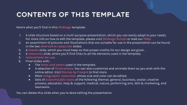 Themic Health presentation template