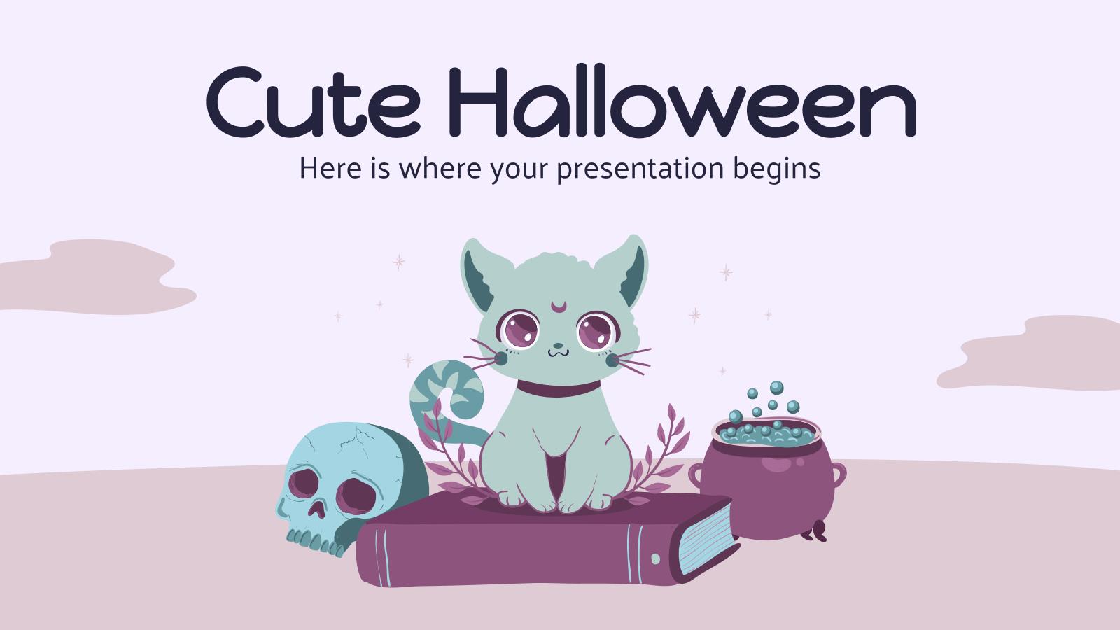 Halloween mignon : Modèles de présentation