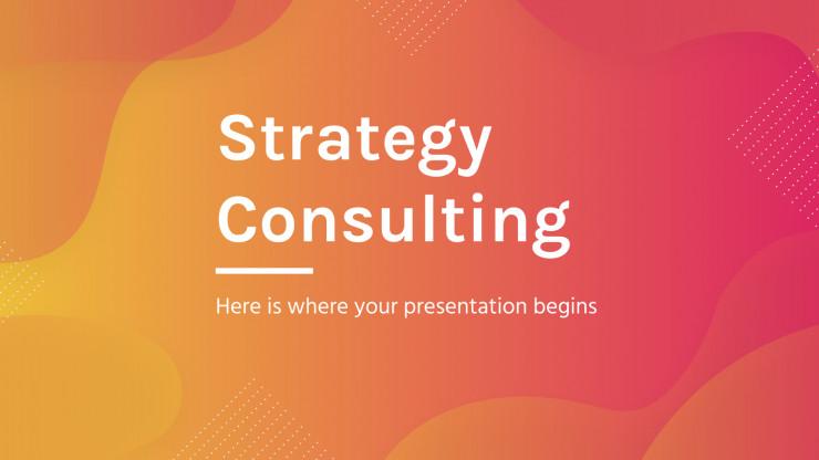 Modelo de apresentação Consultoria de estratégia
