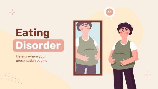 Plantilla de presentación Trastornos alimenticios