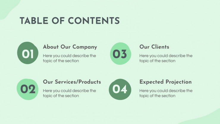 Outdoor Activities Company Profile presentation template