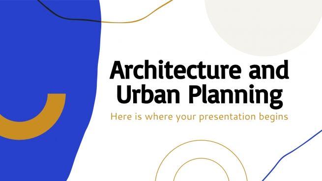 Architecture et urbanisme : Modèles de présentation