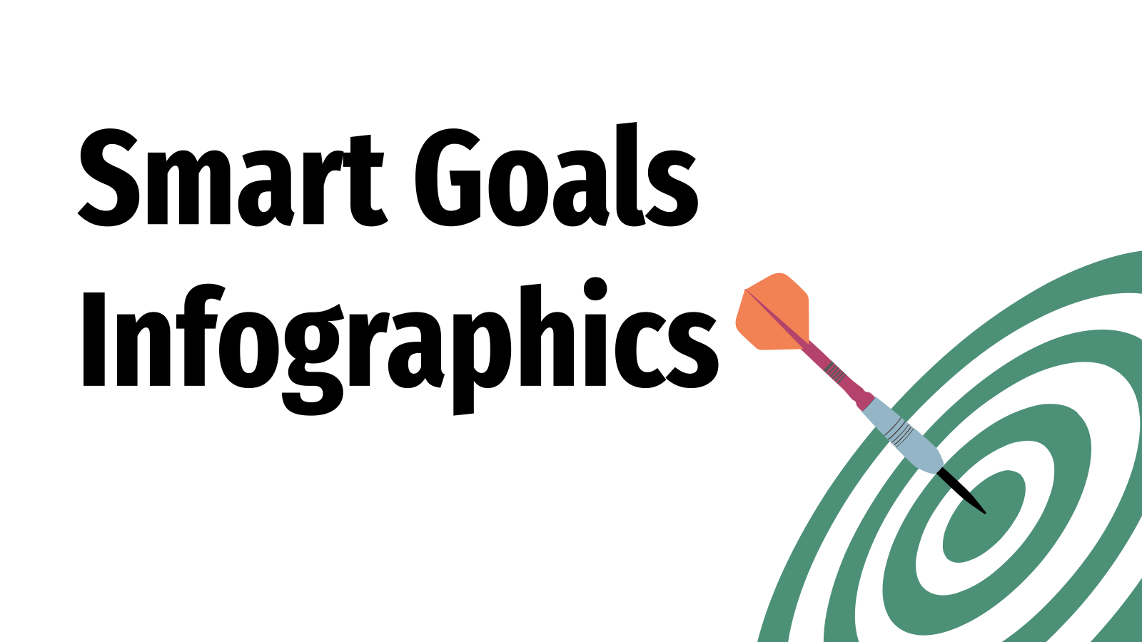 Smart Goals infographics presentation template