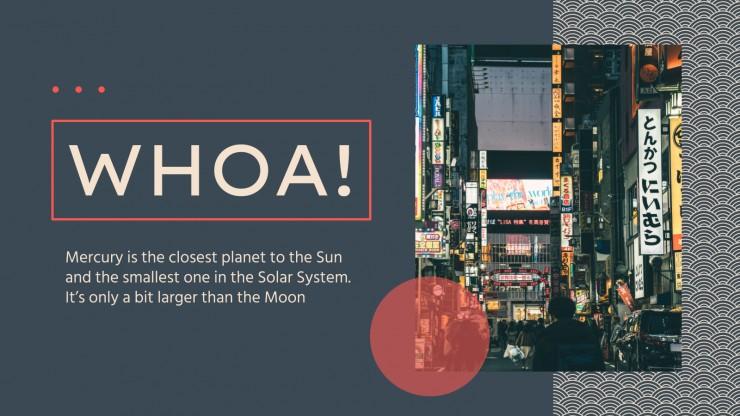 Streets of Japan presentation template