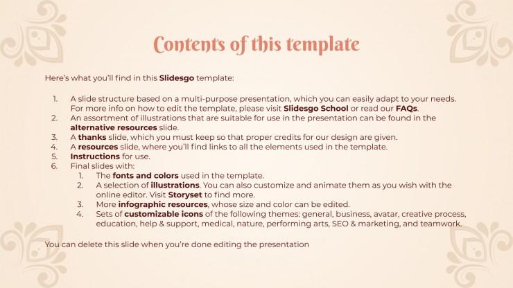 Vasant Panchami Festivity presentation template