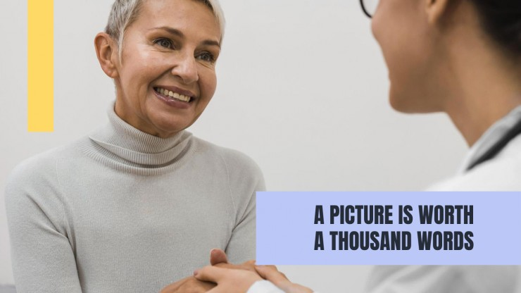 Patient Cure Breakthrough presentation template