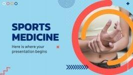 Modelo de apresentação Medicina esportiva
