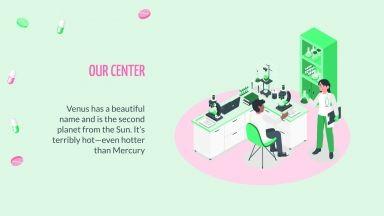 Centre de Santé Nurit isométrique : Modèles de présentation