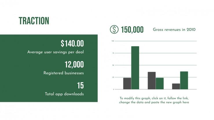 Pitch deck d'entreprise de biomasse : Modèles de présentation