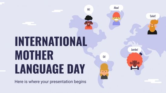 International Mother Language Day presentation template