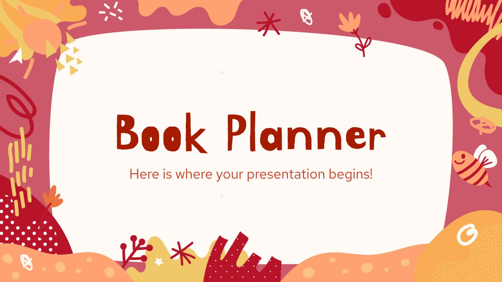 Modelo de apresentação Agenda para crianças