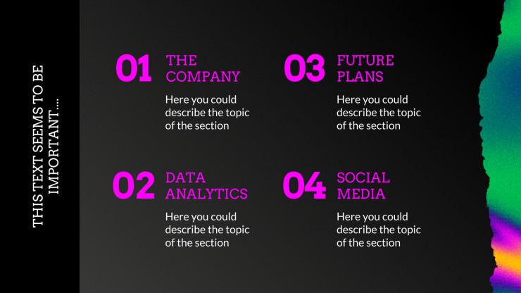 Hello World Advertising presentation template