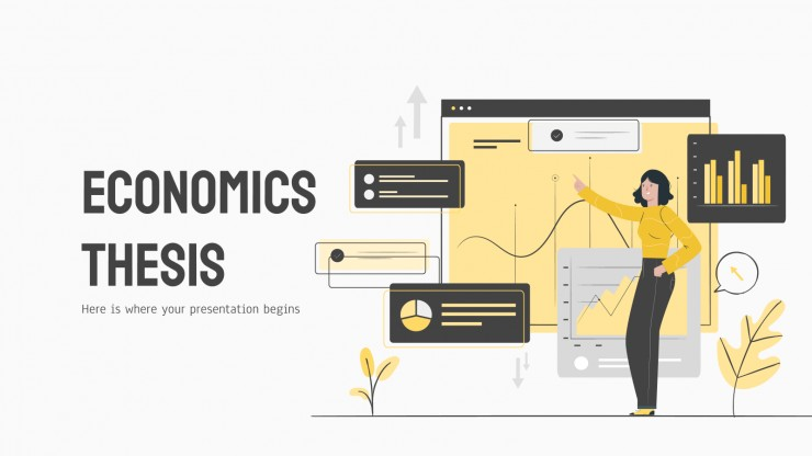 Economics Thesis presentation template