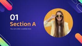 Modelo de apresentação Promoção relâmpago