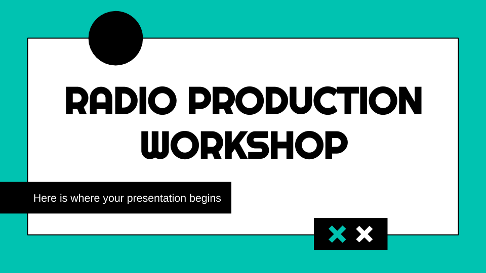 Radio Production Workshop presentation template