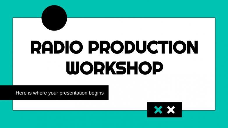 Modelo de apresentação Oficina de produção de rádio