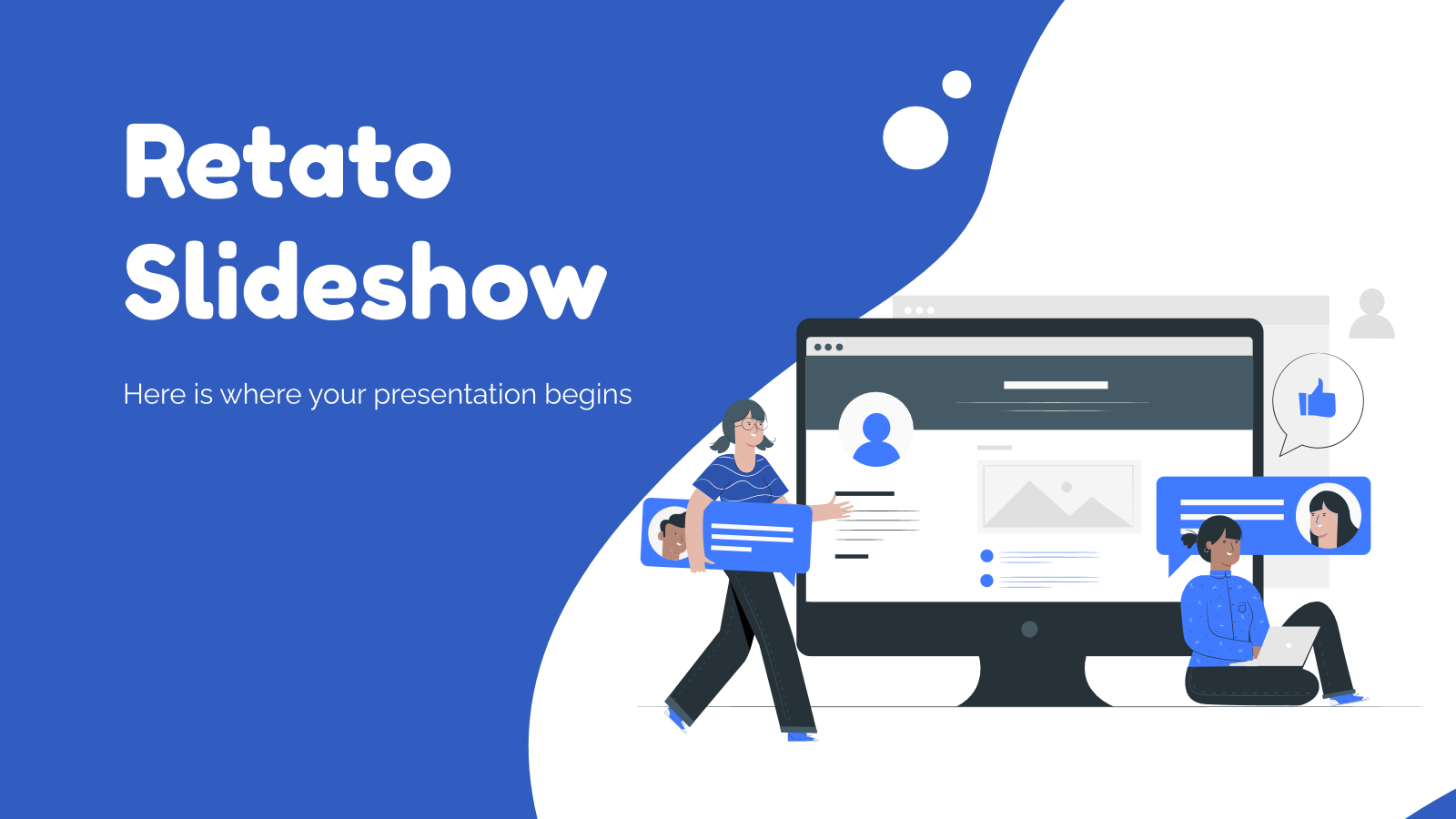 Retato Slideshow presentation template