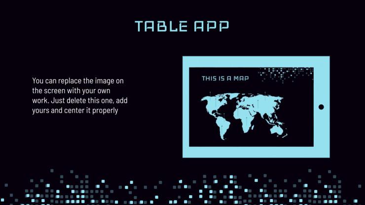 Modèle technologique : Modèles de présentation
