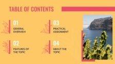 Spanish Lesson presentation template