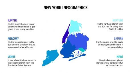 New York Infographics presentation template