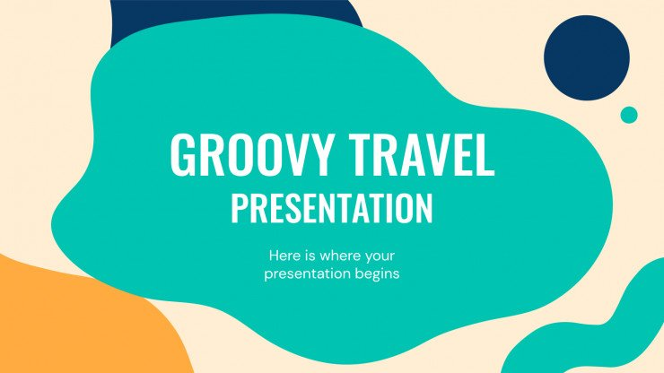 Groovy Travel presentation template