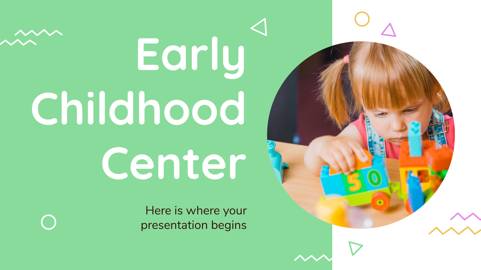 Early Childhood Center presentation template