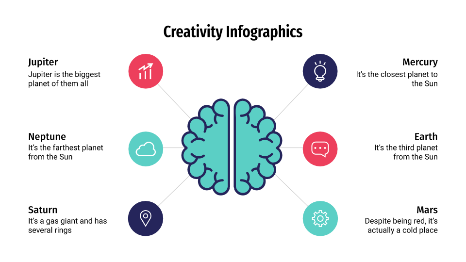 Creativity Infographics presentation template