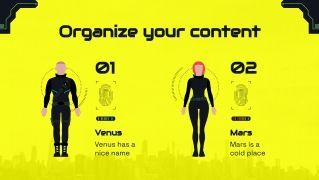 Ville futuriste de 2077 : Modèles de présentation