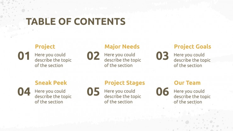 Energy Saving Project Proposal presentation template