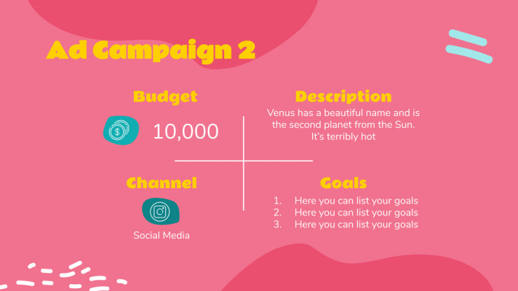 Innovative Campaign presentation template