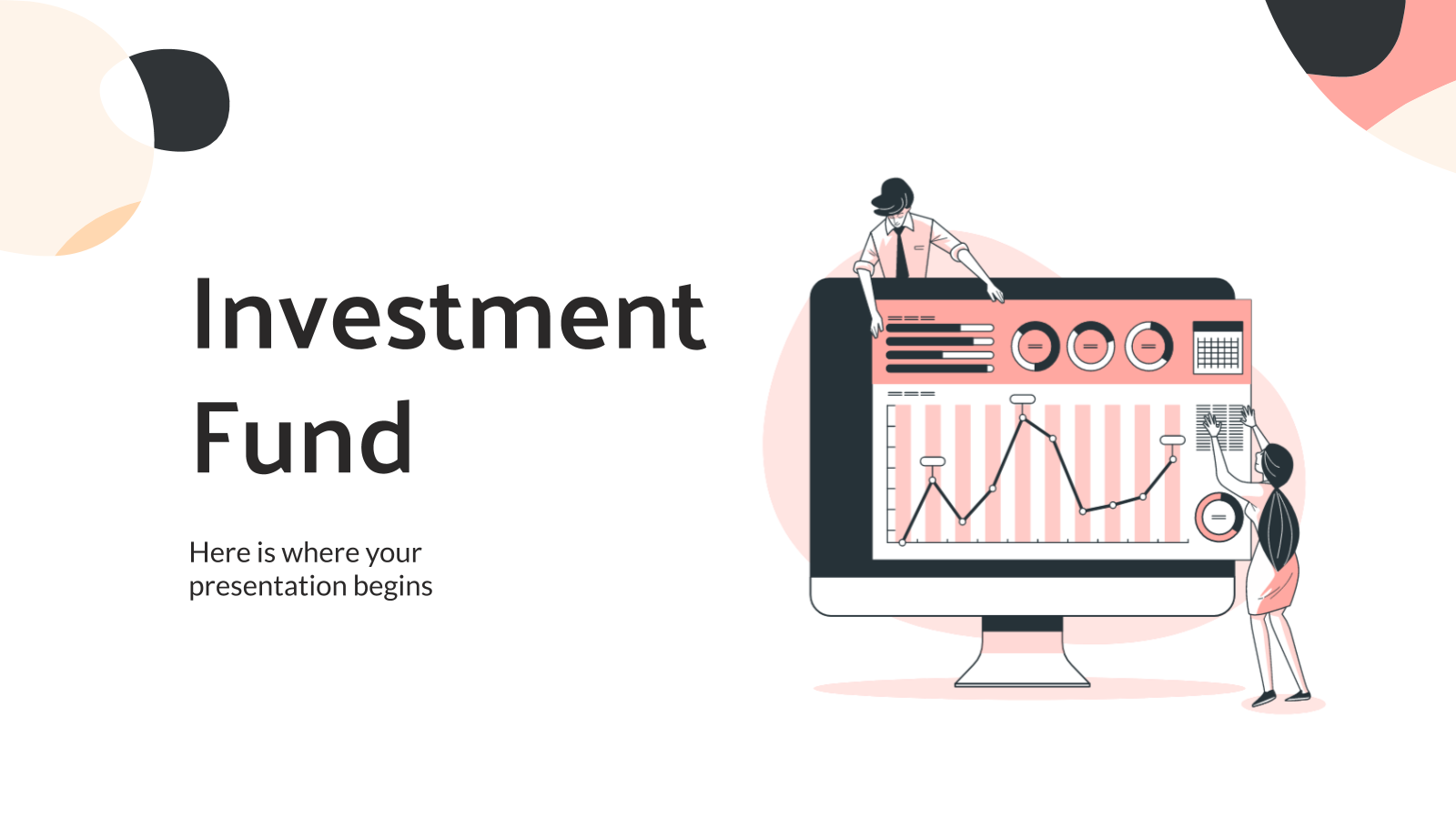 Investment Fund Company Profile presentation template
