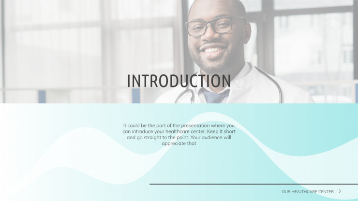 Healthcare Center presentation template