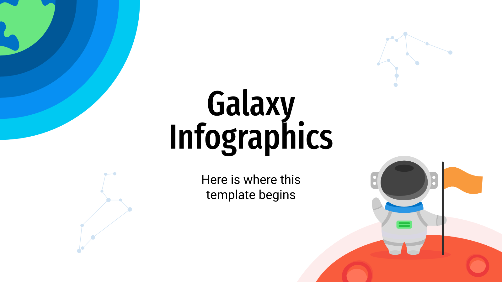Galaxy Infographics presentation template