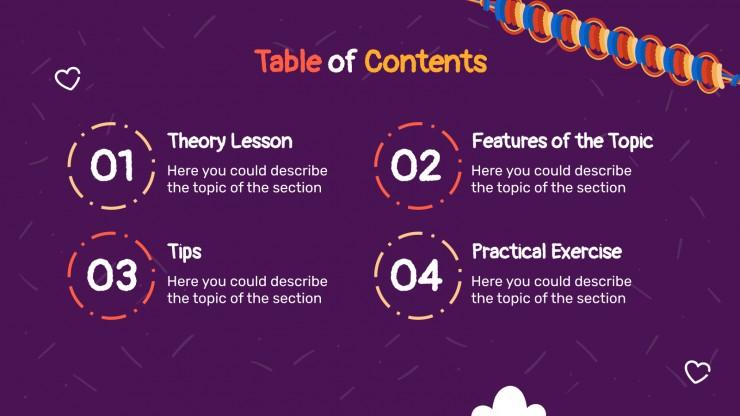 Friendship Bracelets Workshop presentation template