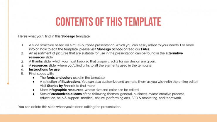 Creat Slide Deck presentation template