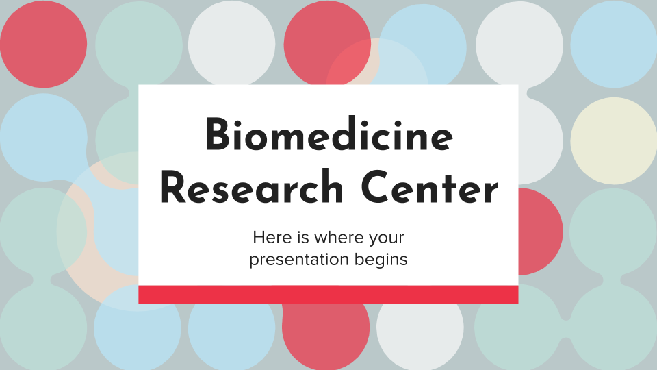 Biomedicine Research Center presentation template