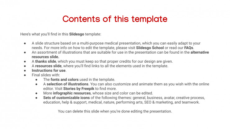 Heale Slideshow presentation template
