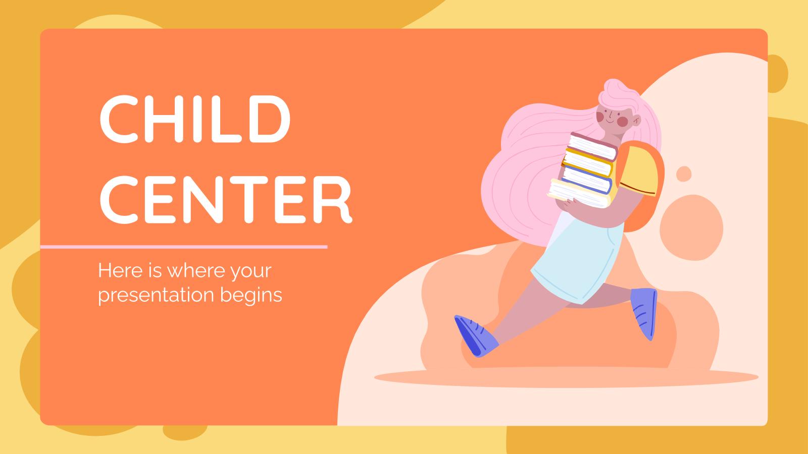 Child Center presentation template