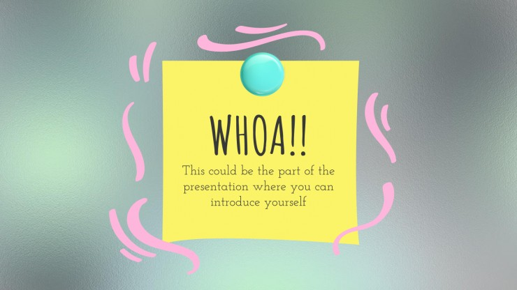 Ucity Bulletin Board presentation template