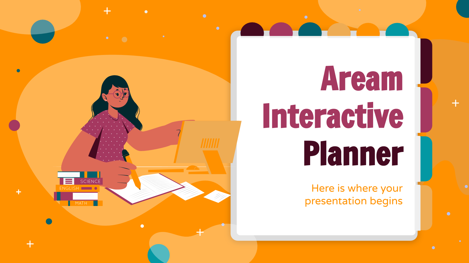 Aream interactive planner presentation template