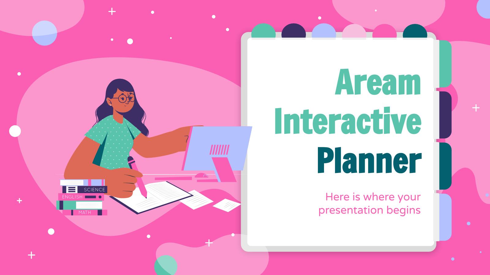 Aream interactive planner presentation template