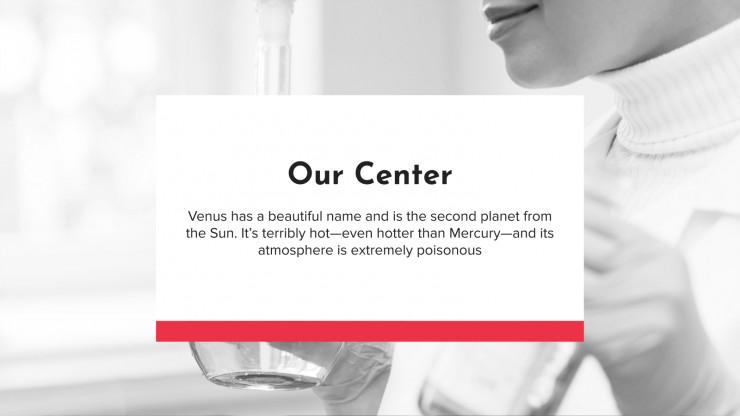 Plantilla de presentación Centro de investigación biomédica