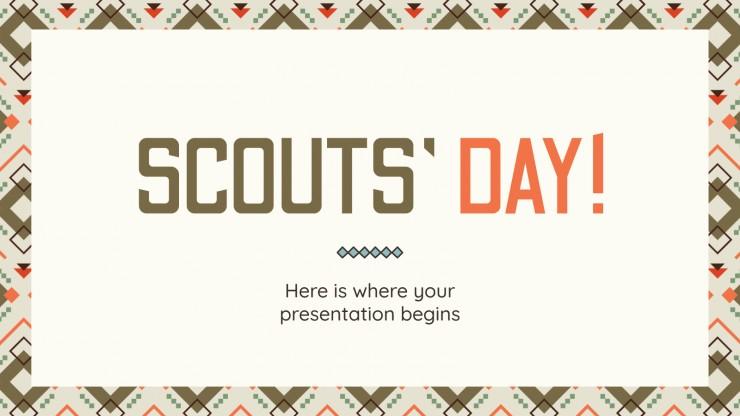 Plantilla de presentación Día de los Scouts