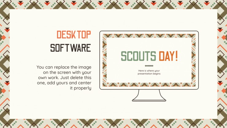 Scouts' Day presentation template