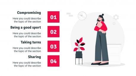 Improving Social Skills: Perspective Taking presentation template