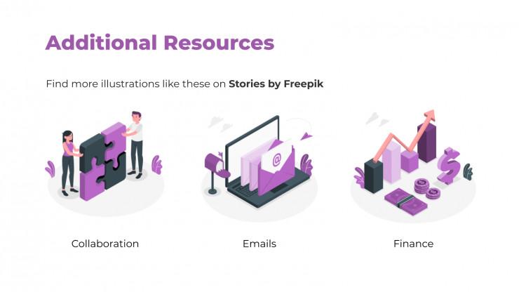 Startup Slide Deck presentation template