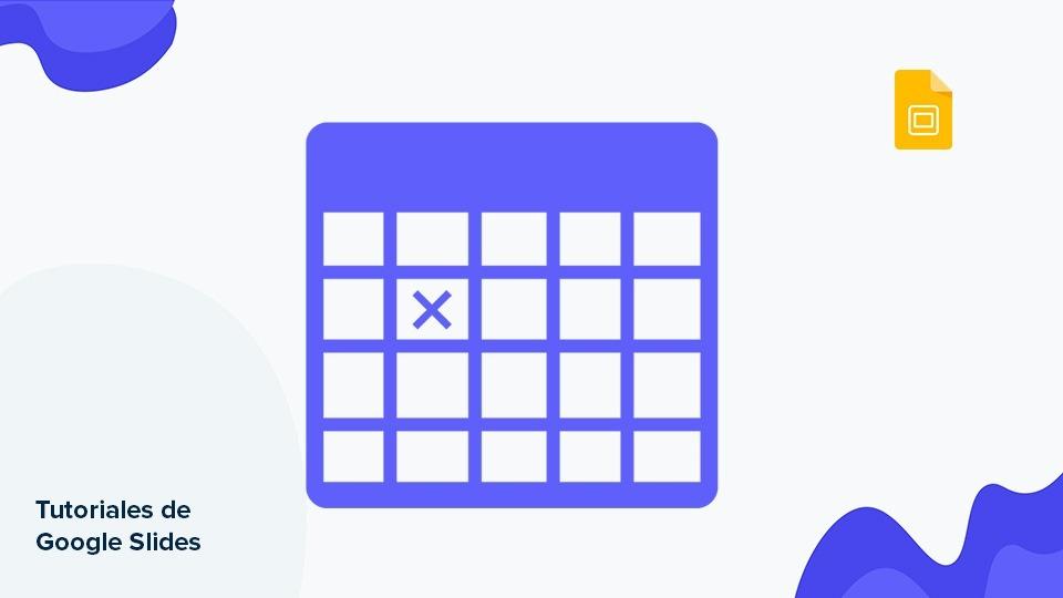 Cómo añadir y editar tablas en Google Slides | Tutoriales y Tips para tus presentaciones