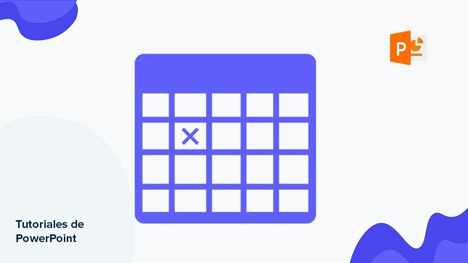 Cómo crear una tabla y darle formato en PowerPoint | Tutoriales y Tips para tus presentaciones