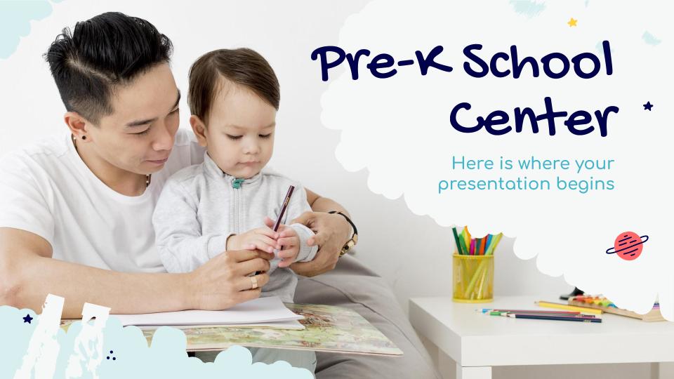 Modelo de apresentação Pré-escola