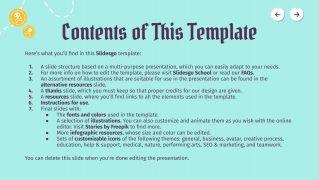 Treasure Hunt presentation template